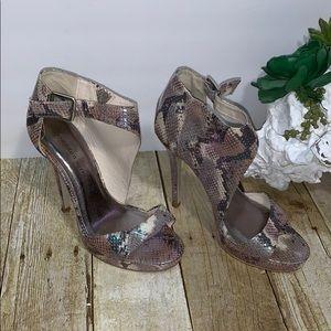 Madden Girl Snake Print Heels